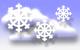 сильнооблачно, снег